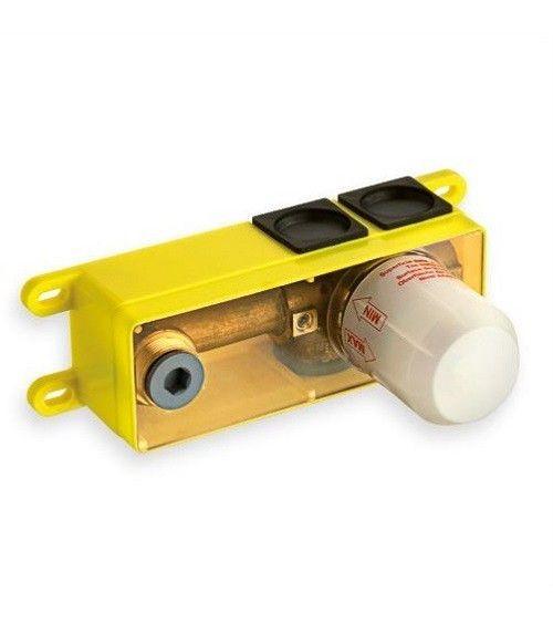 Mécanisme box à encastrer pour lavabo poignée à droite
