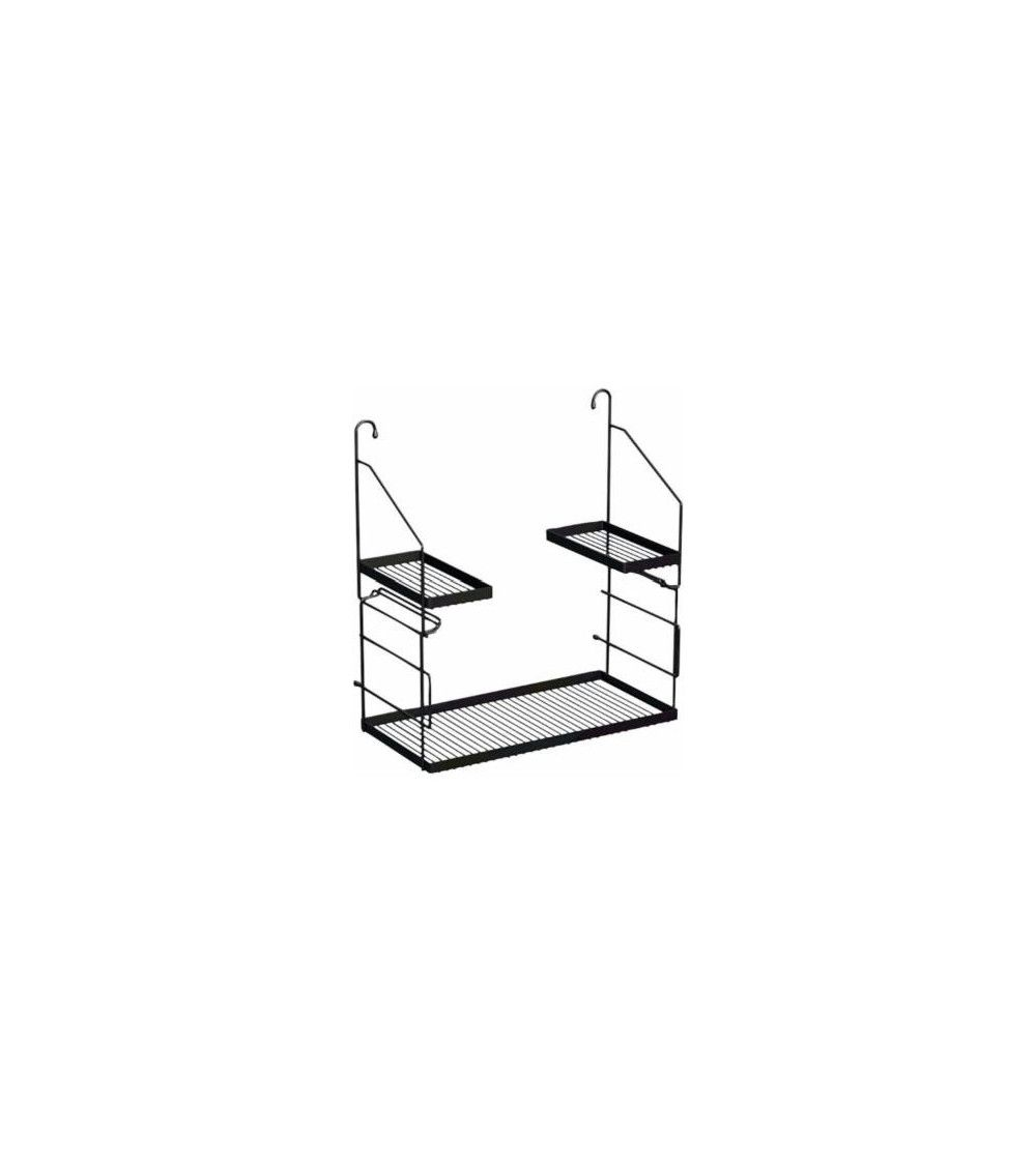 utensilo etag re en acier pour evier de vidage bains d co paris. Black Bedroom Furniture Sets. Home Design Ideas