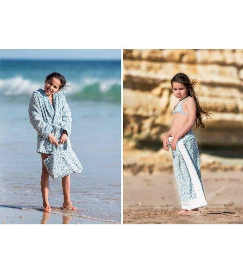 Peignoir luxe ZIMBA kids - Abyss & Habidecor