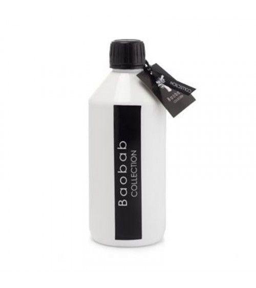 Recharge Diffuseur Baobab Lodge Fragrances Les Prestigieuses Cuir de Russie 500 ml