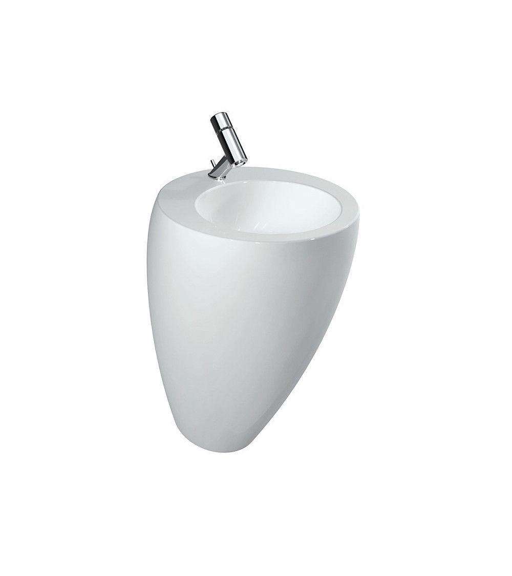Lavabo avec colonne integre - Alessi