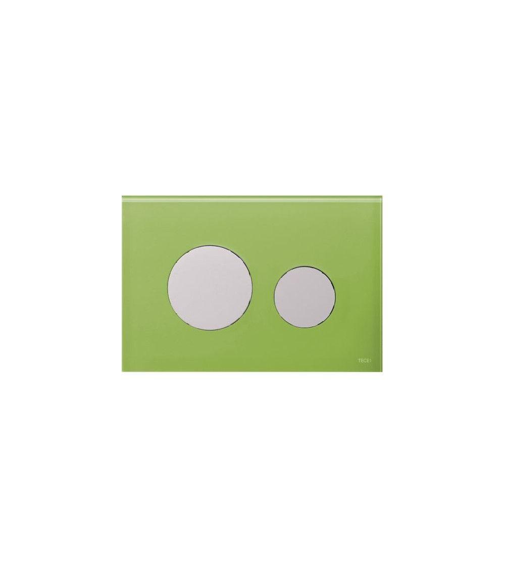 Facade verre vert gazon - TECEloop Designed
