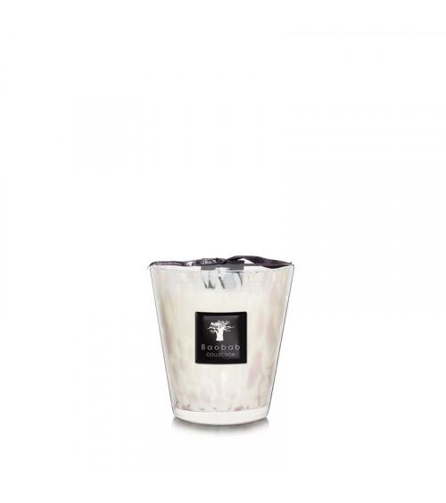 Bougie Max 16 Baobab Pearls White