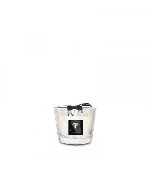 Bougie Max 10 Baobab Pearls White