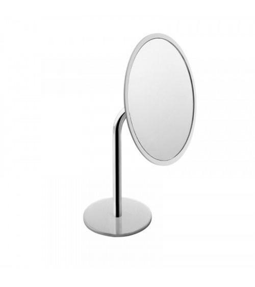 Miroir grossissant à poser Project Cosmic chromé-blanc