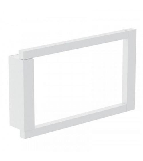 Porte-serviette anneau The Grid Cosmic blanc mat