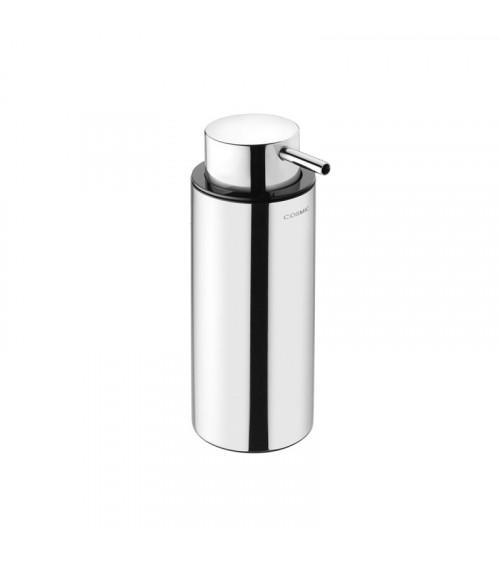Porte-savon liquide à poser Logic Cosmic inox brillant 200 ml