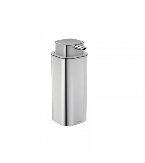 Porte-savon liquide à poser LineB+ Bath + by Cosmic chromé