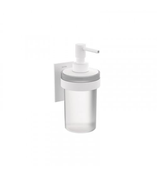 Porte-savon liquide Stick Bath + by Cosmic blanc mat