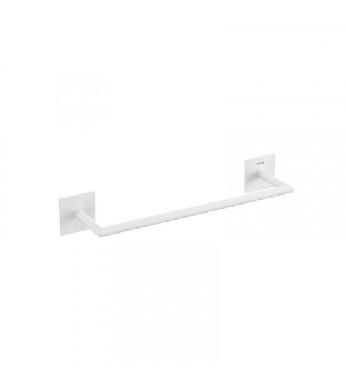 Porte-serviette Stick Bath + by Cosmic blanc mat longueur 30 cm