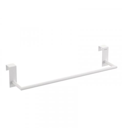 Porte-serviette Stick Bath + by Cosmic blanc mat longueur 38 cm