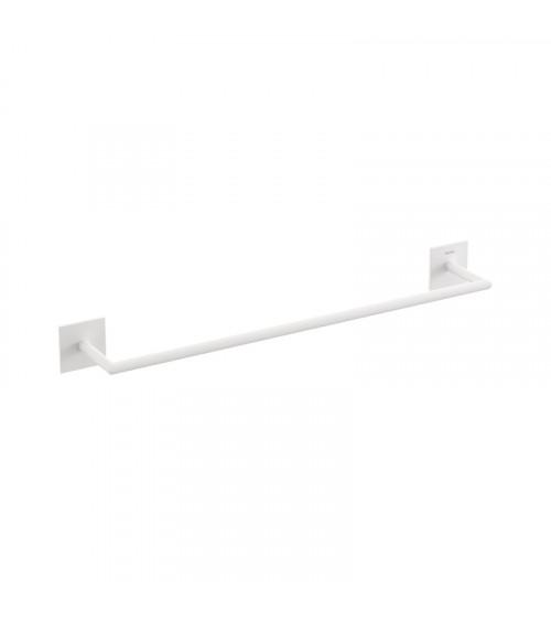 Porte-serviette Stick Bath + by Cosmic blanc mat longueur 45 cm