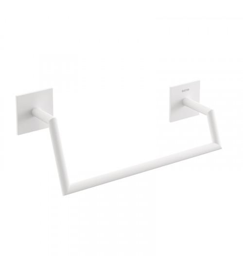 Porte-serviette anneau Stick Bath + by Cosmic blanc mat