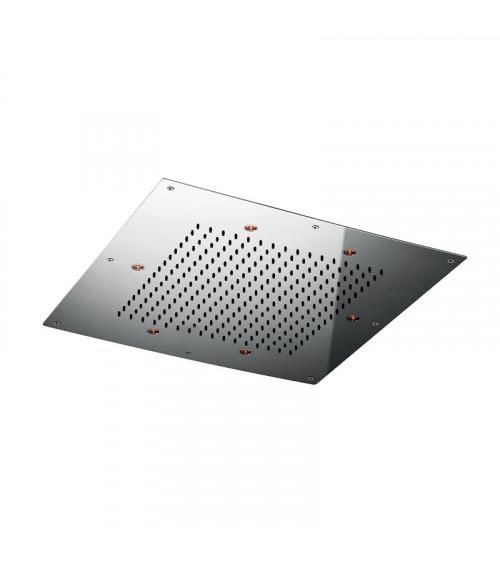 Plafond de douche à encastrer à faux plafond Techno Aquaelite 500 x 500 mm