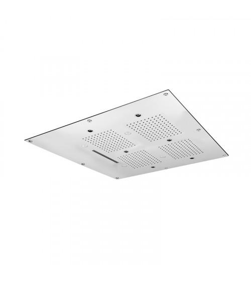 Plafond de douche à encastrer à faux plafond Techno Aquaelite 600 x 600 mm