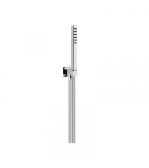 Set de douche en ABS avec flexible PVC 150 cm Techno Aquaelite