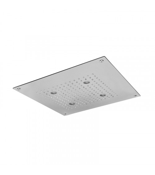 Plafond de douche à encastrer à faux plafond Techno Aquaelite 400 x 400 mm