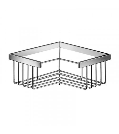 Porte-savon grille en angle amovible Lira Pomd'or chrome