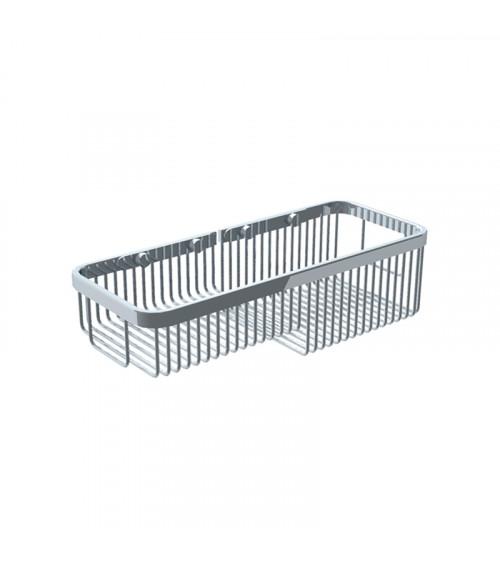 Porte-savon grille Lira Pomd'or chromé