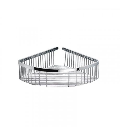 Porte-savon grille angle Lira Pomd'or chromé