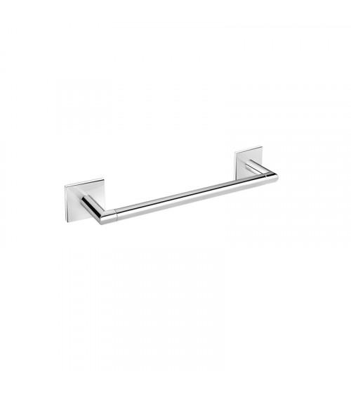 Porte-serviette Duo Square Bath + by Cosmic chromé 30,5 cm
