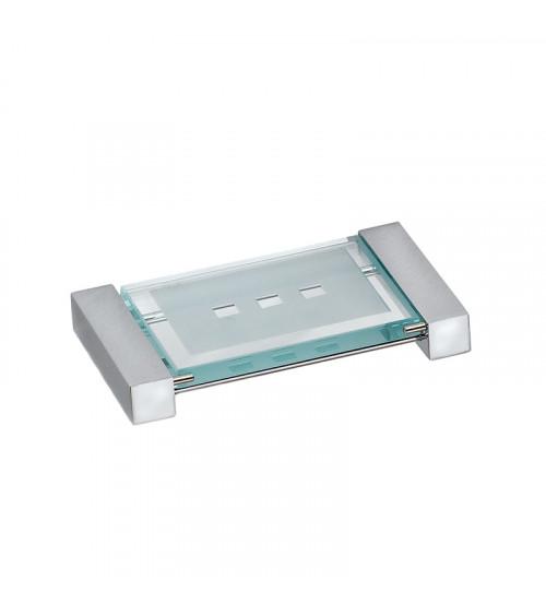 Porte-savon à poser Metric Pomd'or chromé