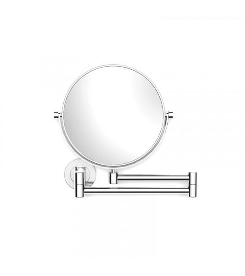 Miroir grossissant (x3) mural Illusion Pomd'or chromé