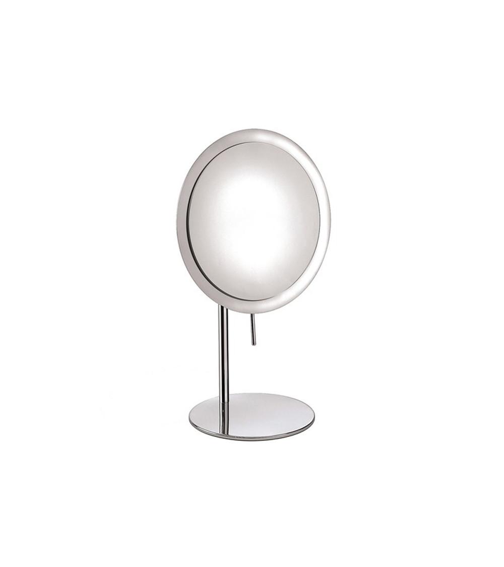 Miroir grossissant (x3) à poser rond Illusion Pomd'or chromé