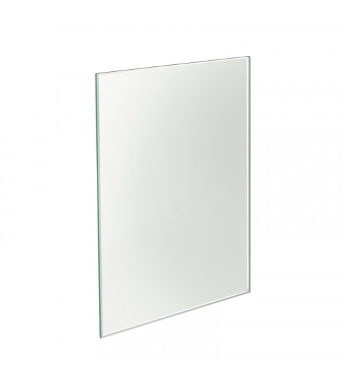 Miroir à poser rectangulaire Mirage Pomd'or argent brillant