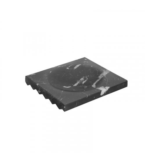 Porte-savon pour tablette Mirage Pomd'or marquina brillant