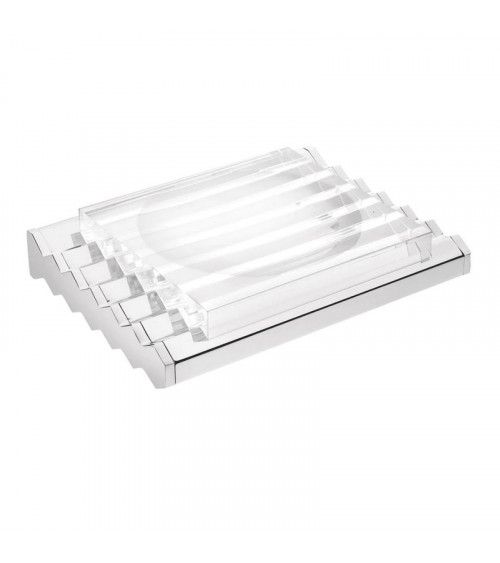 Porte-savon Mirage Pomd'or chrome-transparent
