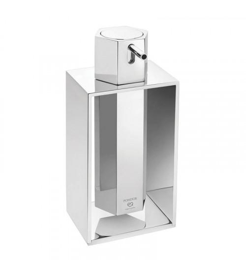 Distributeur savon liquide à poser Mirage Pomd'or chromé