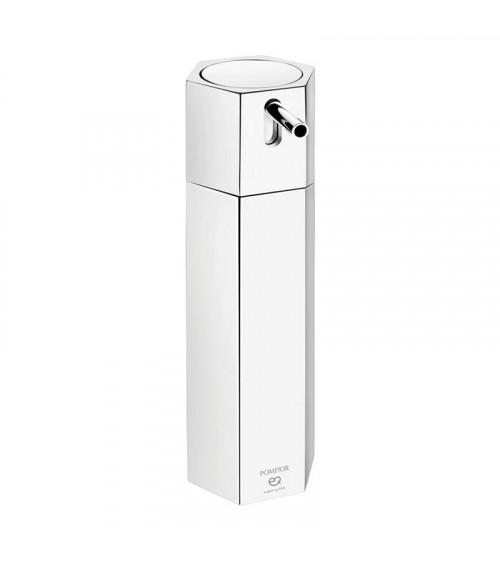 Distributeur de savon sur pied Mirage Pomd'or chromé
