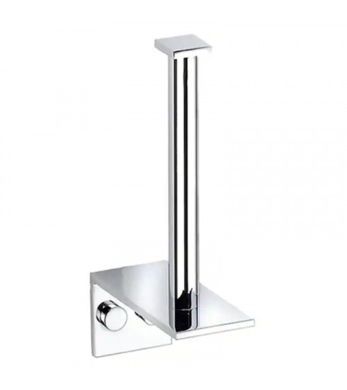 Porte-rouleau WC auxiliaire Metric Pomd'or chromé