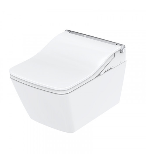 WC suspendu Washlet™ SW auto flush Toto blanc