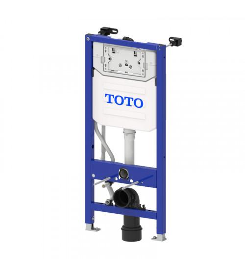 Bâti-support mural pour Washlet™ Toto avec chasse d'eau automatique