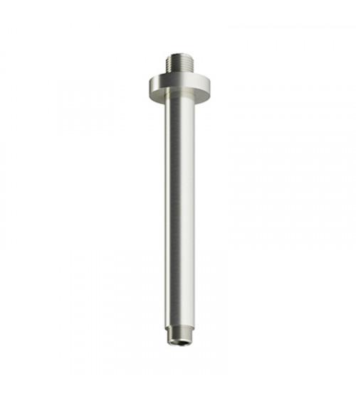 Support de plafond pour pomme douche longueur 20 cm acier brossé Archie Hotbath