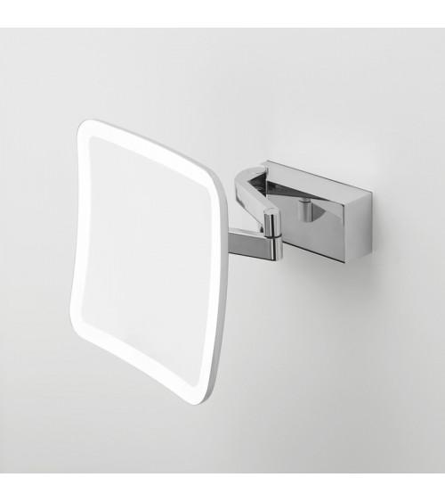 Miroir cosmétique avec éclairage VISION S Decor Walther chromé