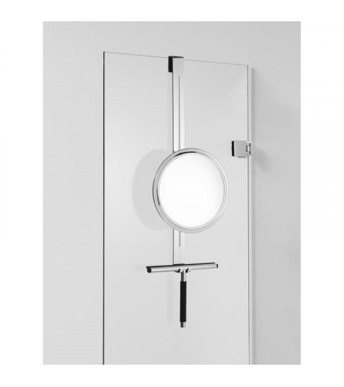 Miroir cosmétique pour séparation de douche HANG UP Decor Walther chromé