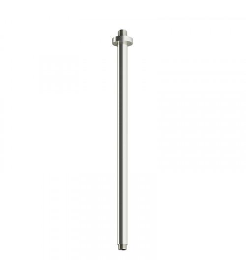 Support de plafond pour pomme douche longueur 50 cm acier brossé Archie Hotbath