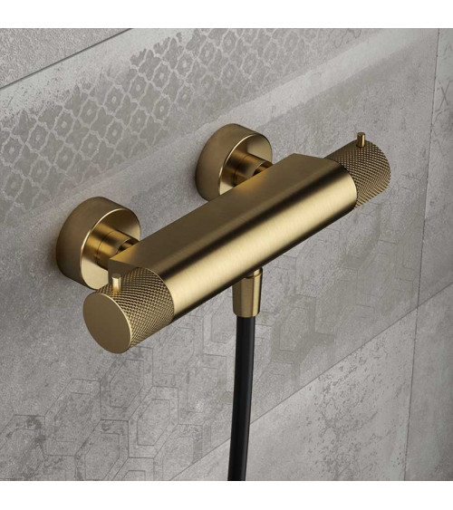 Mitigeur thermostatique mural de douche Cobber X Hotbath