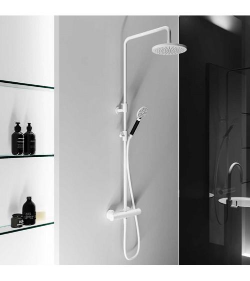 Kit de douche avec mitigeur thermostatique mural Cobber Hotbath