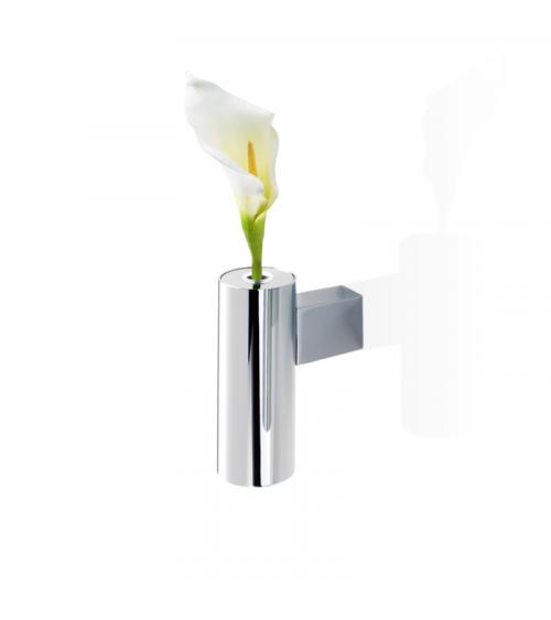Vase / Bougeoir chromé TB VKH Tube Decor Walther