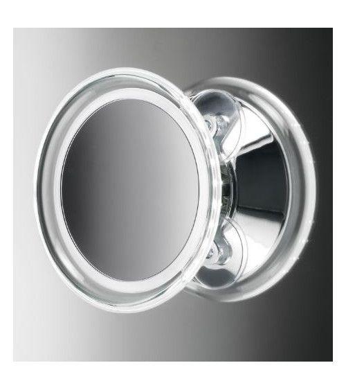 Miroir cosmétique x5 à LED s/cordon - BS 18