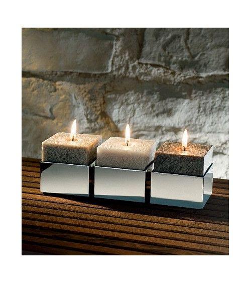 Set x3 bougies parfumées assorties - DKS 1