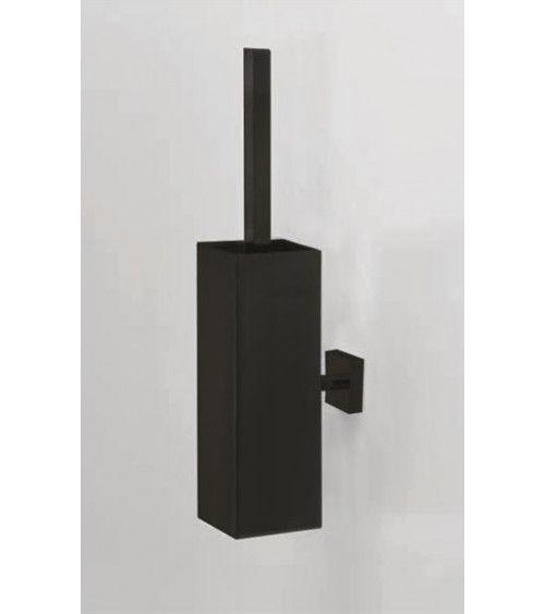 Porte-balai WC mural sans couvercle, métal noir mat - CO WBG N - CORNER