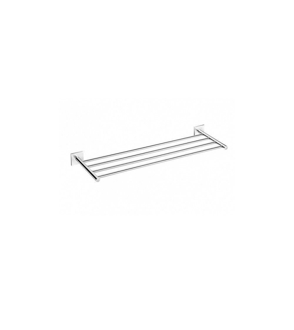 Porte serviette rack mural 60cm coller chrom duo for Porte 60 cm ikea