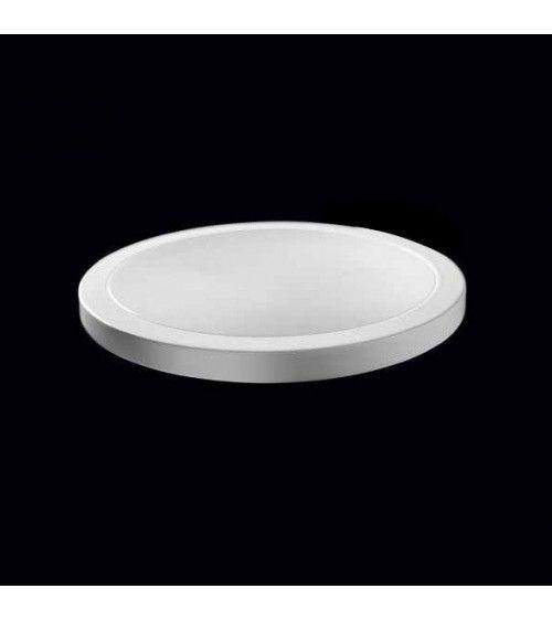 Porte-savon a poser blanc - Black & White