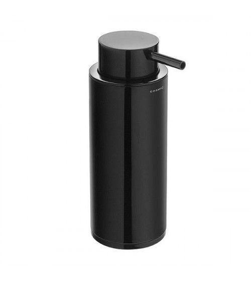 Porte-savon liquide à poser noir - Black & White