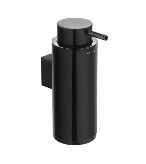 Porte-savon liquide mural noir - Black & White
